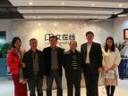 广西新闻出版广电局党组副书记、副局长覃益功一行莅临中文在线调研
